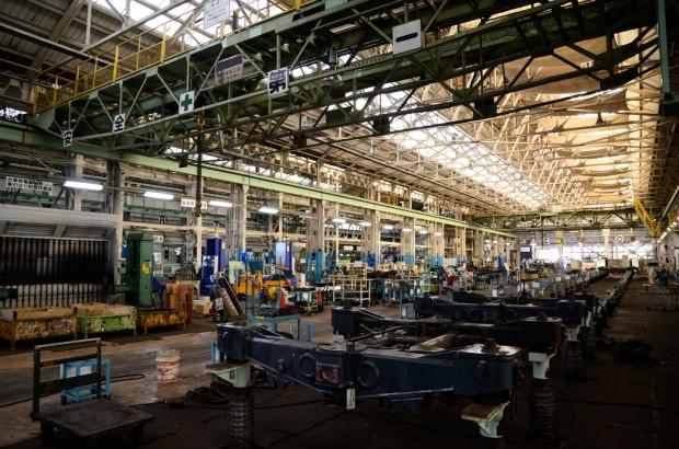 Car Factory in Japan