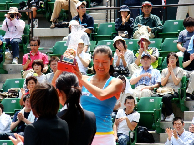 Japanese Tennis Player Kimiko Date-Krumm