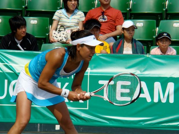 Japanese Tennis Player Kimiko Date-Krumm