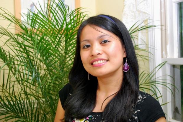 Friendly Filipina girl