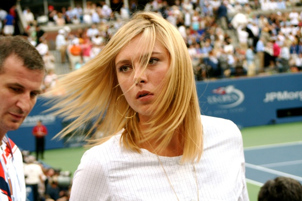 Maria Sharapova- A Russia professional and beautiful Tennis player