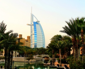 Burj Al Arab, a luxury 5 Star hotel in Dubai