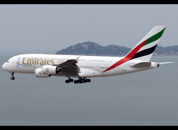 An Emirates Airplane