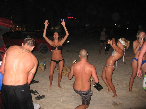 Beach Party in Dubai