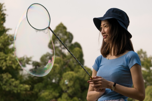 Chinese Malaysian Baloon Girl