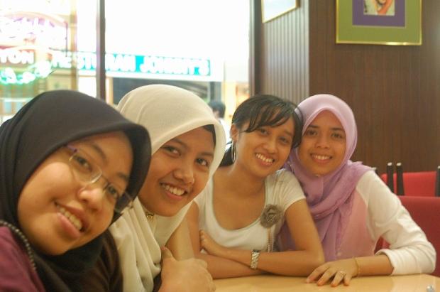 Cute Malaysian girls